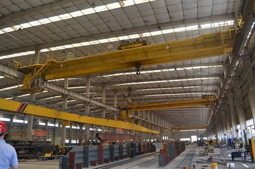 double girder overhead crane with ISO CE