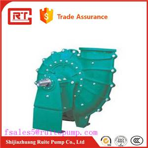 100DT hebei ruite pump of chemiical slurry usage and centrifugal theory
