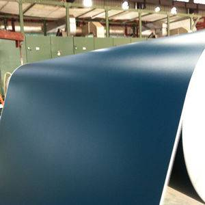 Green blue pvc belt matt surface