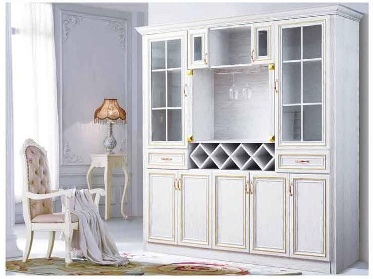 2016 Fashionable Aluminum furniture Aluminum wine cabinet