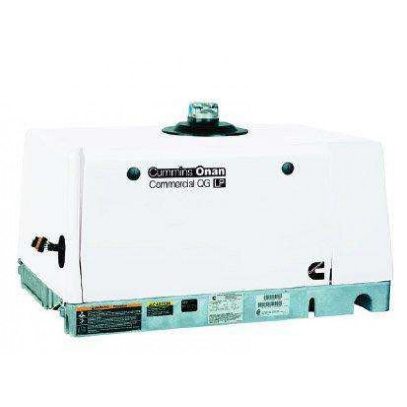 Cummins Onan QG 5500 5.5HGJAE-6757 5500W 120/240V EVAP Commercial Mobile Generator New