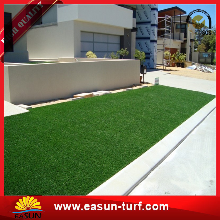 Synthetic artificial turf grass for home garden landscaping grid grass-Donut