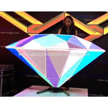 Fashion diamond LED DJ Booth-P5