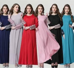 high quality hot sell muslim women abaya kaftan dress