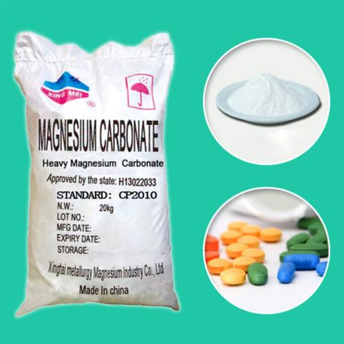 Magnesium Carbonate Pharma Grade EP USP BP GMP