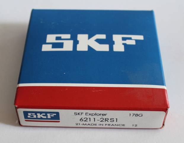 SKF  6211-2RS1  deep groove ball bearing