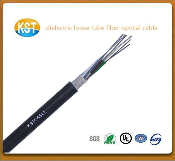 water blocking system/dielectric Loose Tube outdoor optical fiber Cable