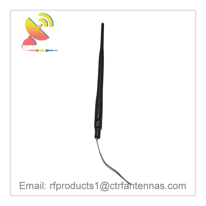 C&T RF Antennas Inc - 2.4G 6dBi gain Wifi omnidirectional antenna rubber ducky dipole antenna