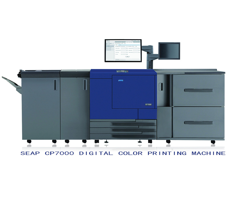 Cmyk Digital Color Printing Machine SEAP CP7000  cmyk digital printer