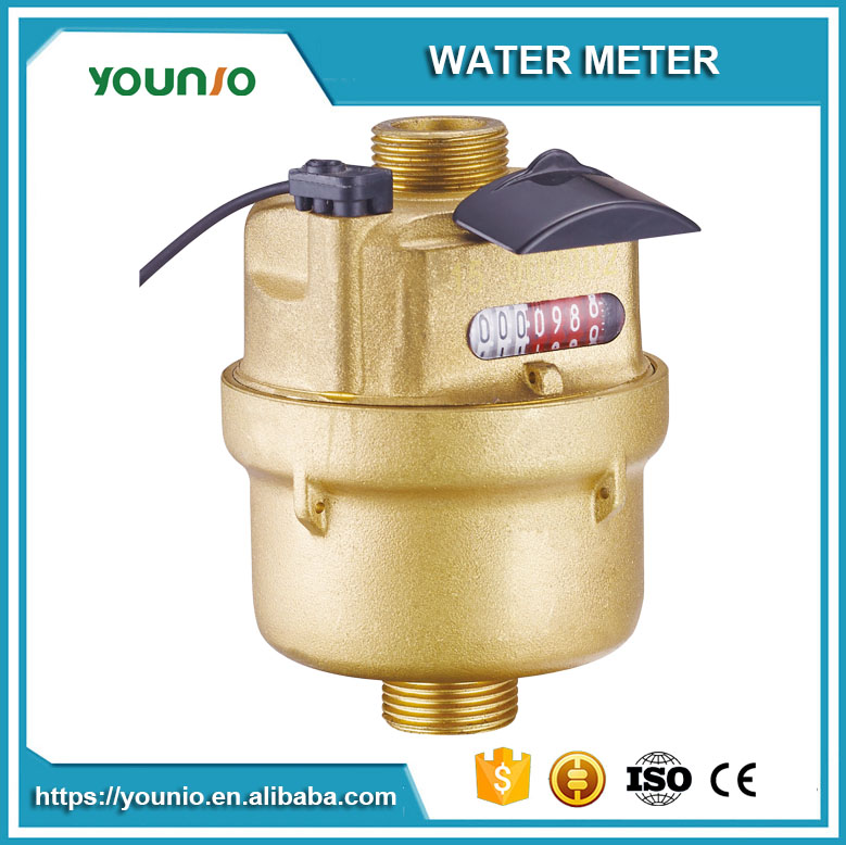 Younio Volumetric Rotary Piston DN 15 Remote Reading Pulse Output Kent Water Meter