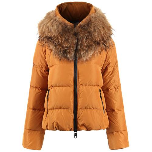down jacket ,women down coats with big fur