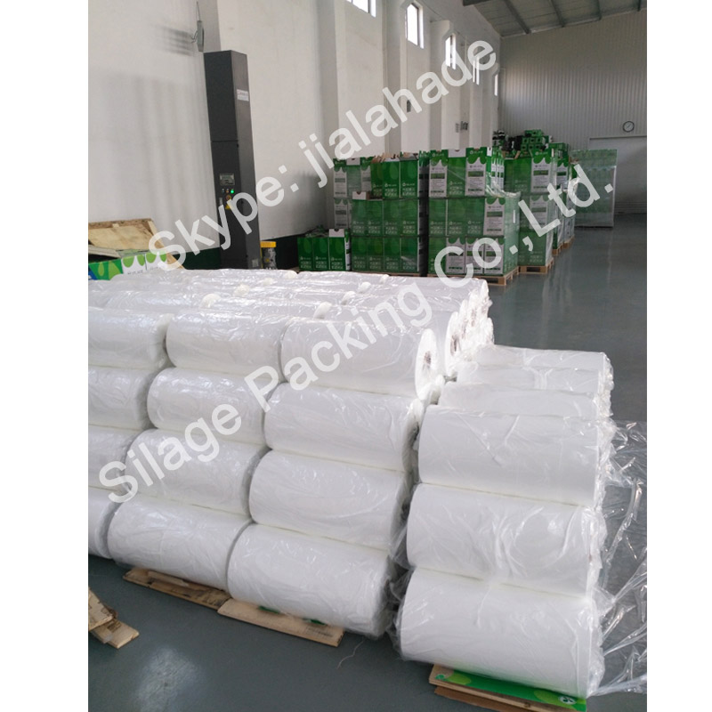 500mm25mic1800m, Stretch Film Type and LLDPE Material Hay Bale Wrap Silage Film