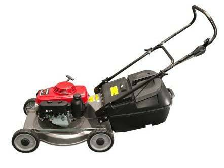 "19"" L Alloy push lawn mower"