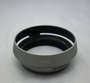 LH-JX100 Lens Hood LA-49X100 Adapter Ring For FUJIFILM Fuji Finepix X100 Silver/black