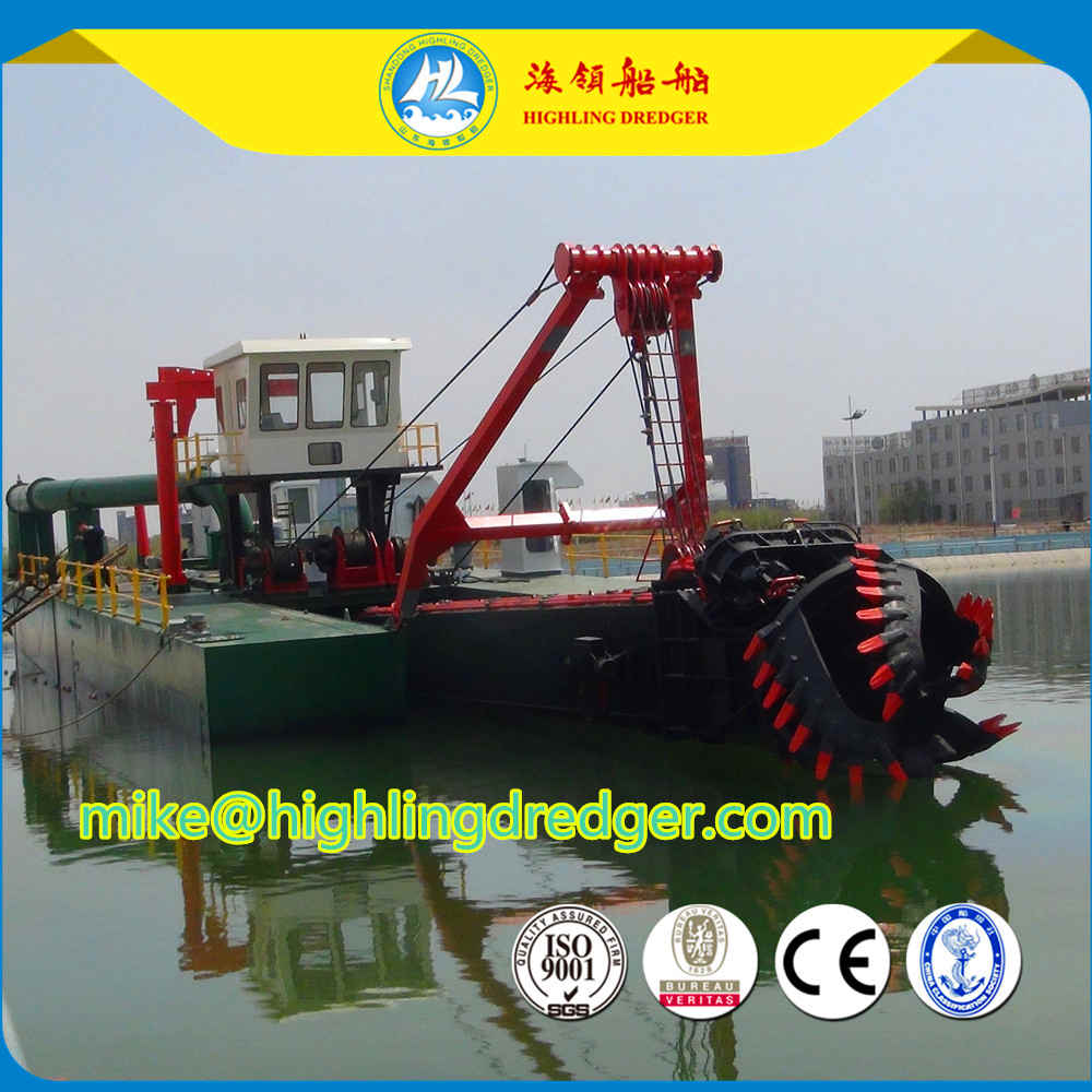 1500m³ river sand cutter suction dredger