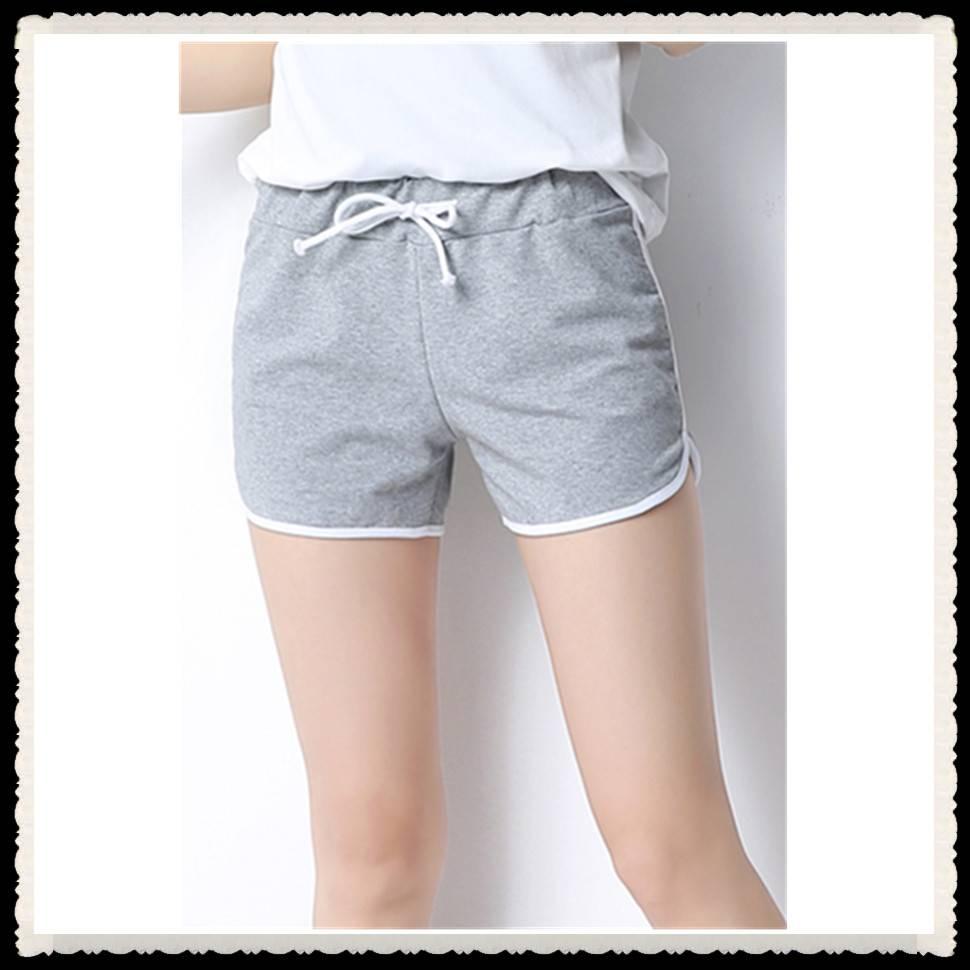 2016 fashion design women jogger shorts