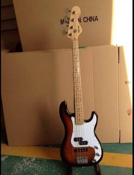 Mahogany Body Electric Bass