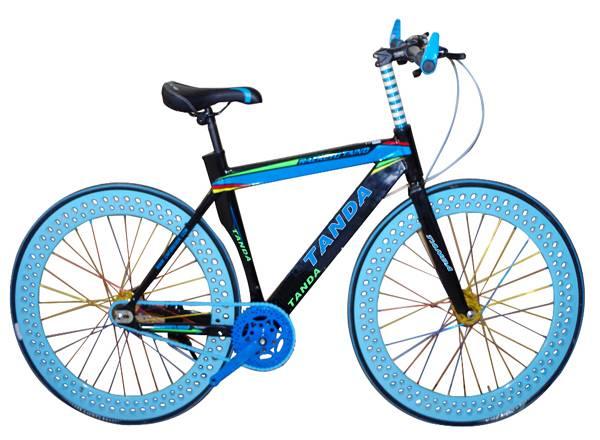 Fixed gear bike, with coaster brake,24'', aluminium alloy frame
