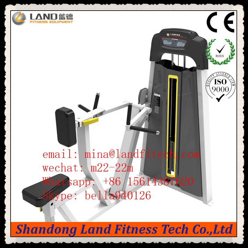 High Quality Press Gym Equipment / Names of Exercise Machines