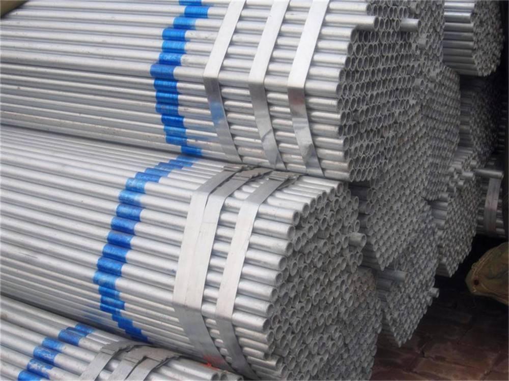Hot-DIP Galvanized Round Steel Pipe