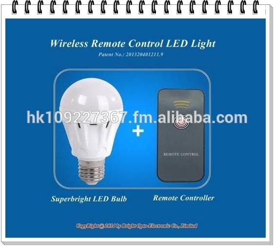 LED Remote Control Light (For Lighting)