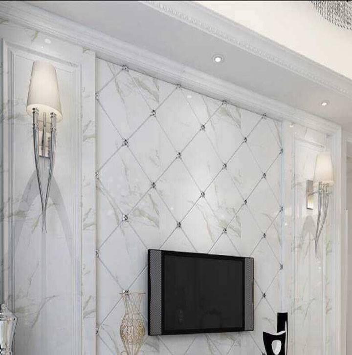 2015 new products imitation marble UV decoration panel slab