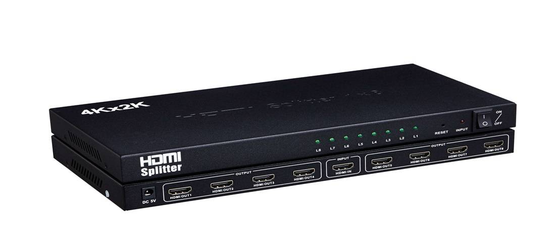 HDMI Splitter 1x8 4K