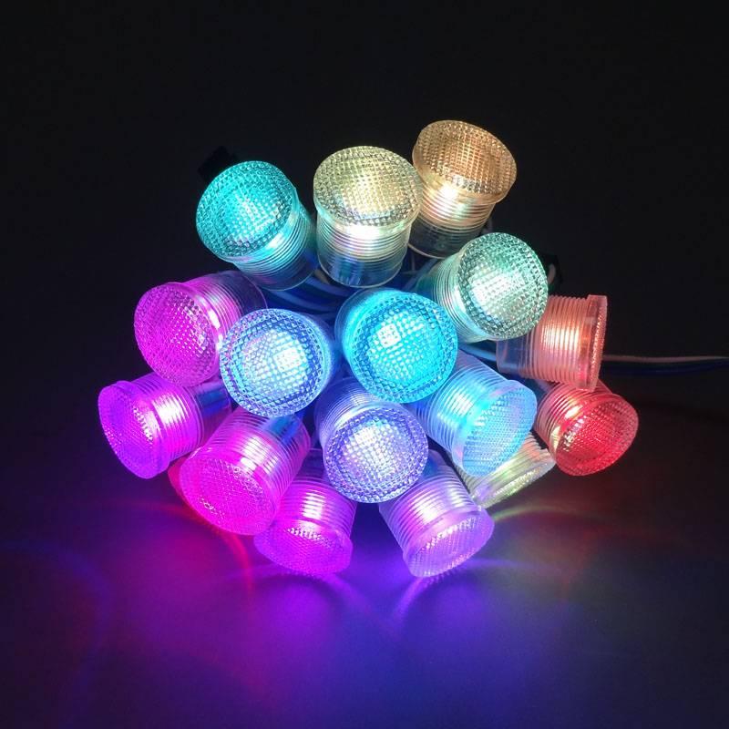 2016 top-selling 20mm DC5V rgb led pixel light for advertising lighting