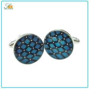 High quality wholesale custom metal cufflink