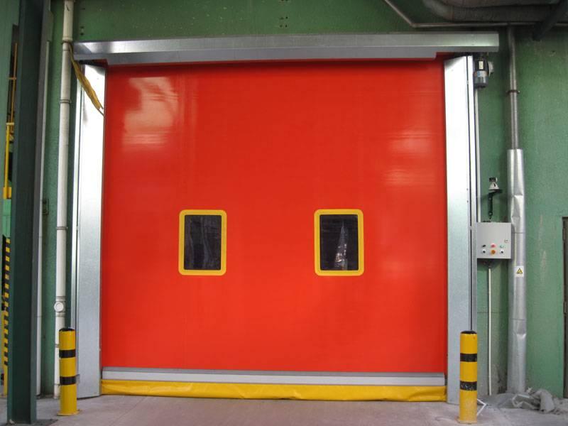 Automatic PVC Rapid Roll Door (CF 420)