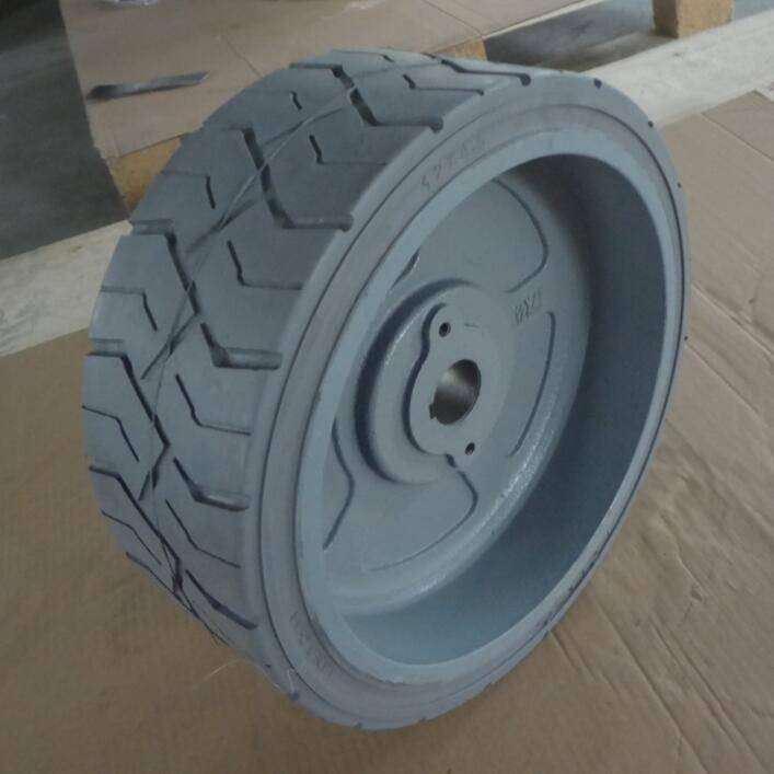 factory radial truck tire 12x4.5 for ports