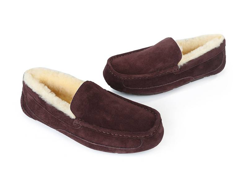 New 100% Natural Sheepskin Sheep Wool Moccasin Boots