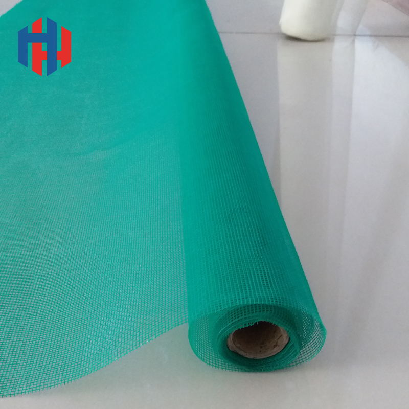 Green color Fiberglass insect screen