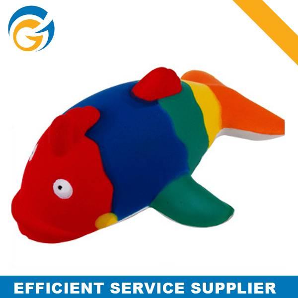 Cute Colorful Fish Pu Stress Ball