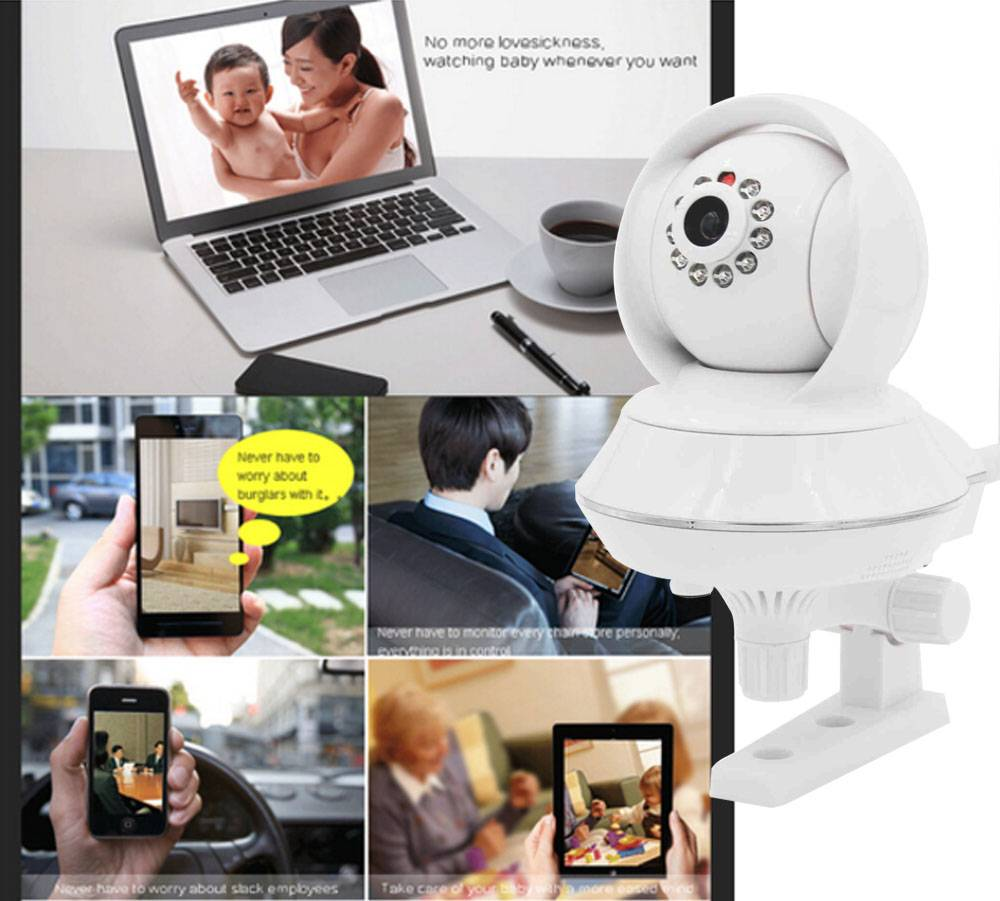 Two ways audio Mini HD IP camera wifi camera home security camera