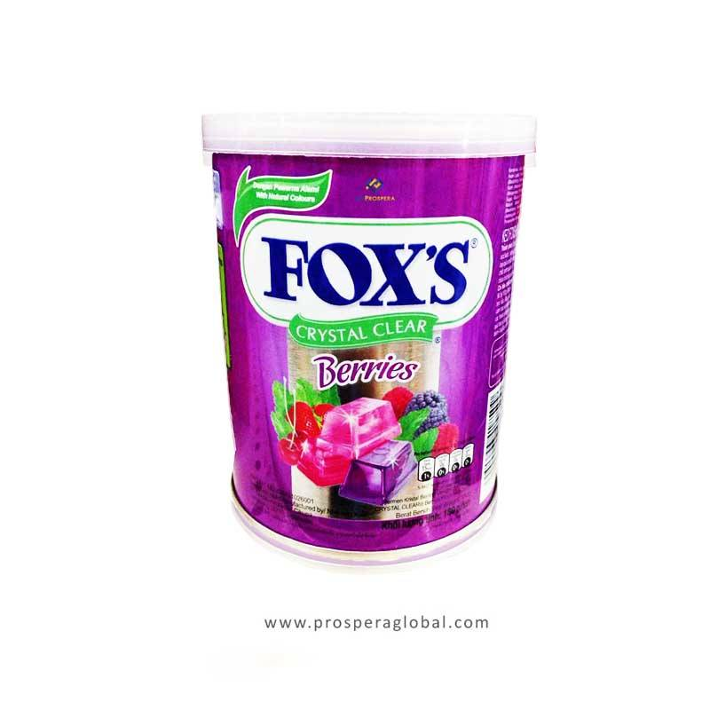 Fox's Candy Crystal Berries 180g