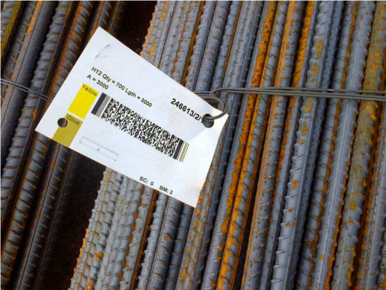 Durable Metal Bar Code Labels for High Temperature Applications