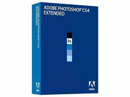 Adpbe photoshop cs4 extended retail box