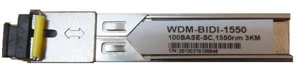 SFP module WDM-BD-1.25G-20