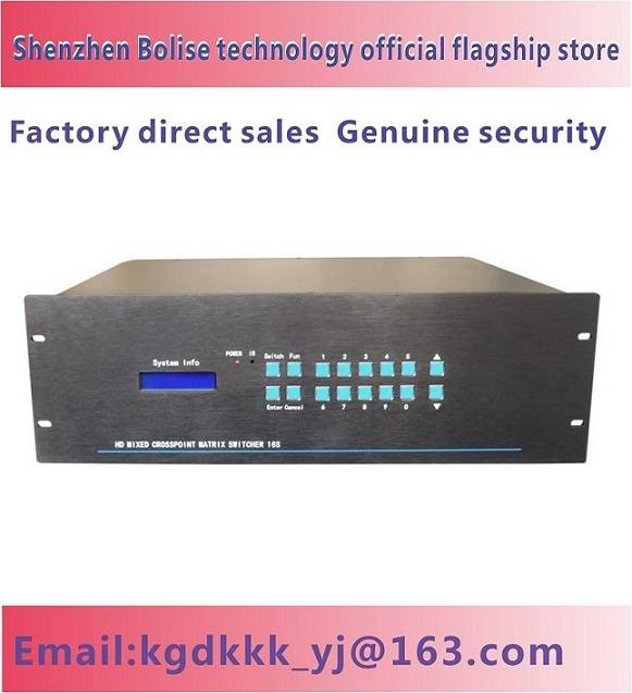 32X32 DVI Matrix Switcher DVI Matrix Switcher Matrix Switcher 32 Ins 32 Outs Dvmatrix Switcher