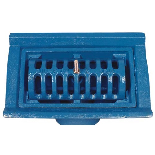 Ductile Iron full-flow two-way roof outlet - center bolt