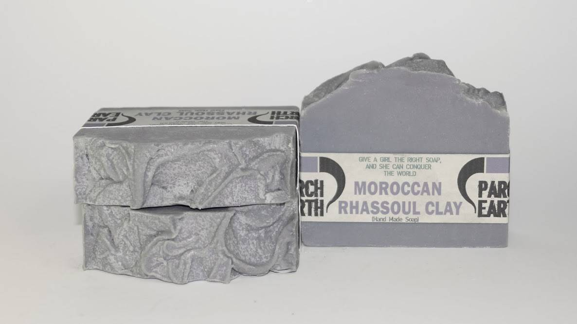 MOROCCAN RHASSOUL CLAY HANDMADE SOAP