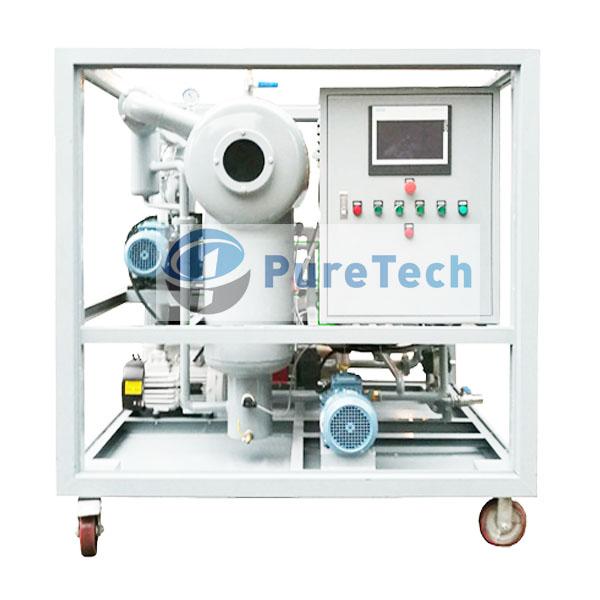 4000LPH Mobile Vacuum Transformer Oil Purifier