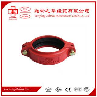 ductile iron grooved pipe couplings