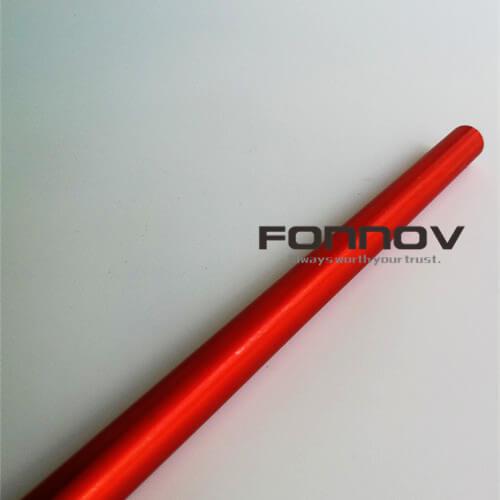 Anodised Aluminium Tube Anodized Red Colour