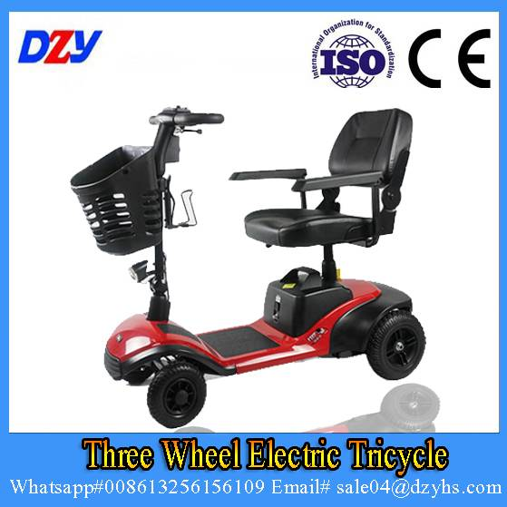 China Four Wheel Electric Scooter For Elderly/Electric Scooter With Seat