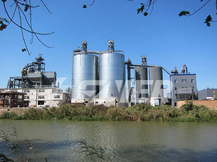 Storage Silo For Calcined Petroleum Coke