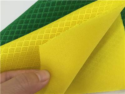durable waterproof polyester sandwich mesh