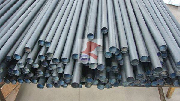 titanium anode for oil field pipe protection