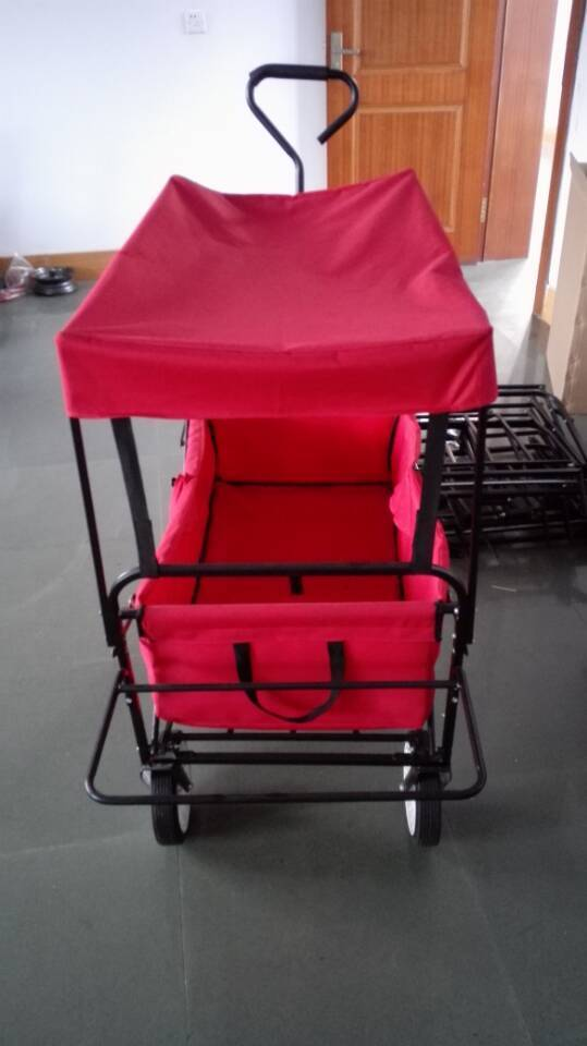 Trail folding wagon with copact size for easy storage TC1808-4